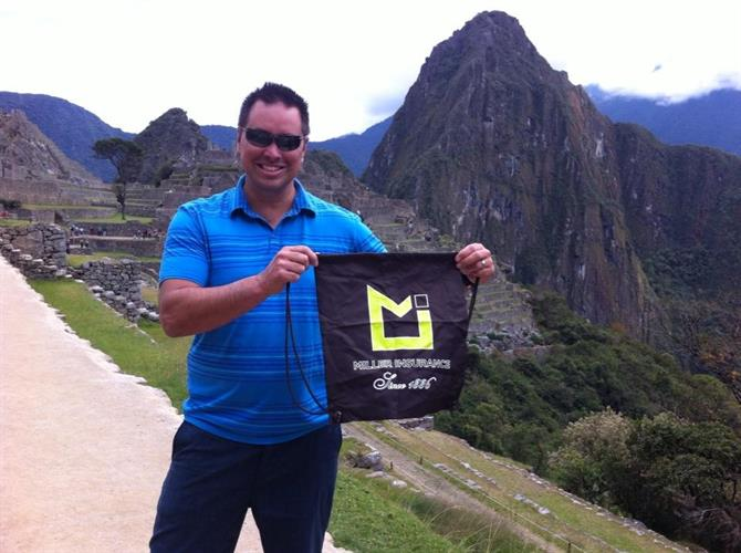 Miller Insurance at Machu Picchu