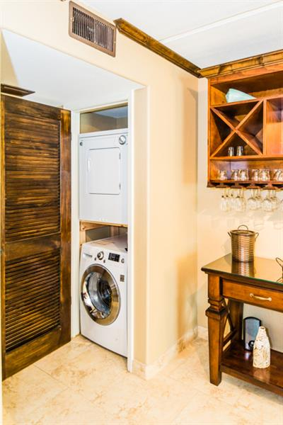 High Efficiency washer and dryer.