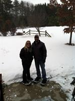 Snow shoeing is just some of the winter fun At Willow Pond.