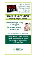 Sparrow Ionia Walk-In Clinic