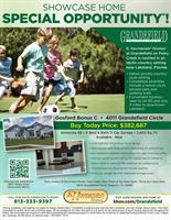 """Featured Home Grandefield at Poley Creek """"Gosford"""""""