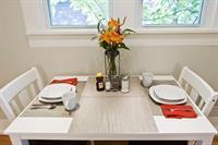Kitchen dining area third view