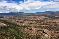 Aerial view of Los Alamos, NM