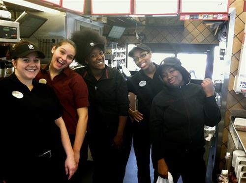 We love our team members at Chick-fil-A