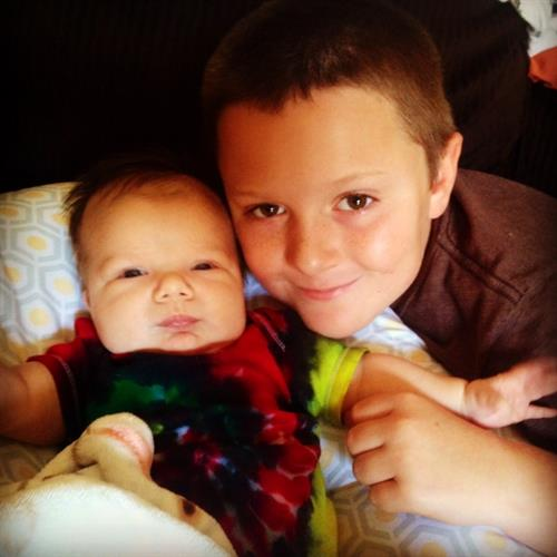 Grandsons Ryder and Ayden