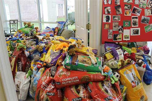 BHHS - McMillen Associate annual Pet Food Drive