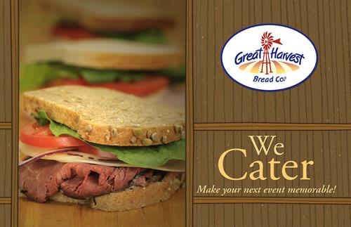 Ask us about our catering options for your office