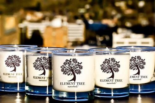 Element Tree Candles made in NC