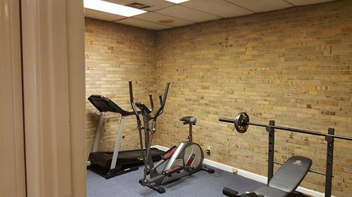 Gym area free for all past and present HMC customers. Call and schedule your spot today.