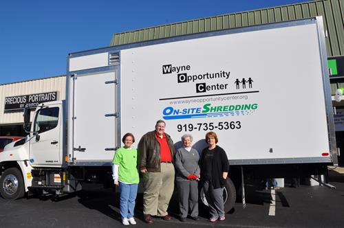 Annual Community Shred Day with Wayne Oppourtunity/Sponsered by H&R Block