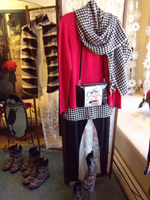 Ruthie can help you put together a fabulous outfit.