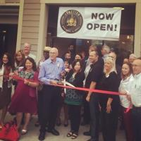 Junction Brewwery Ribbon Cutting