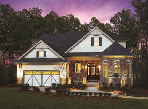 Enjoy low-maintenance ranch style homes in our Golf Villas collection.