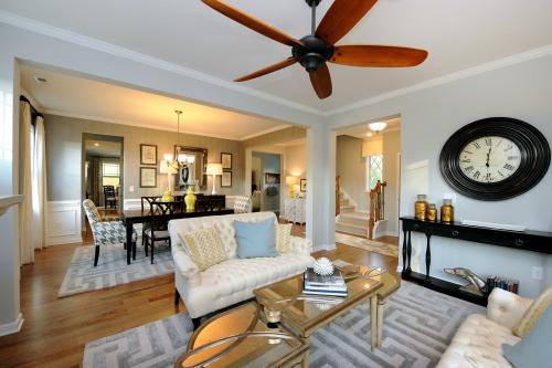 The Bishop living room
