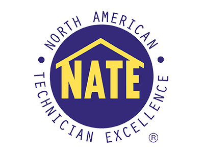 Our service force is 80% NATE Core Certified and also hold multiple Specializations!