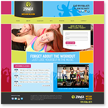 Website Design: Megan McArn Zumba