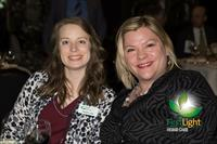 FirstLight HomeCare Owner Sarah Lane and Dir. of Community Outreach Adriana Hutchings.