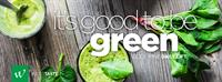 Good to be GREEN....the antioxidant power of 16-plus servings of organic and natural vegetables