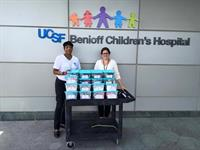 SISF delivers Jared Boxes to UCSF