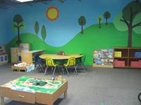 Our preschool room can have up to 16 preschoolers.