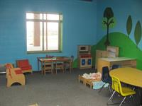 Our toddler room can have up to 10 toddlers.