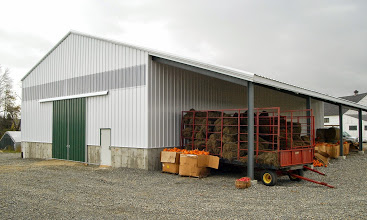 Scamman Farms Hay Storage