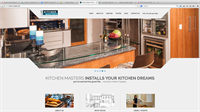 web design, SEO and hosting for kitchen-masters.com