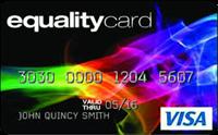 EqualityCard® Visa