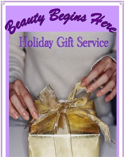 I make so easy for you and your family with your WISH LIST - just have them give me a call and choose your choices you've made with me
