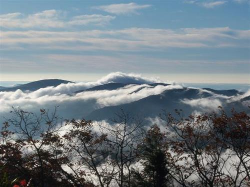 A beautiful morning- Brasstown Bald