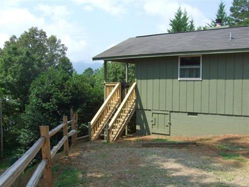 Hawk's Peak cabin
