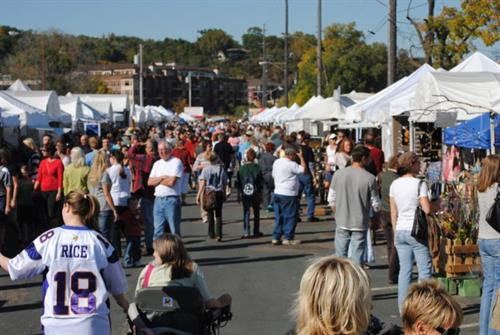 Rivertown Art Fair in downtown Stillwater