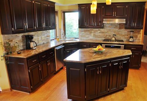 Cabinets Color Change Renewal After