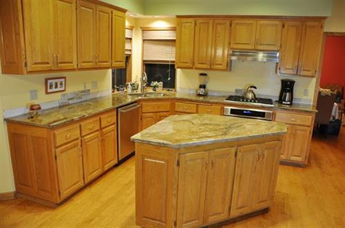 Cabinets Color Change Renewal Before