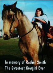 Rachel Smith our inspiration!