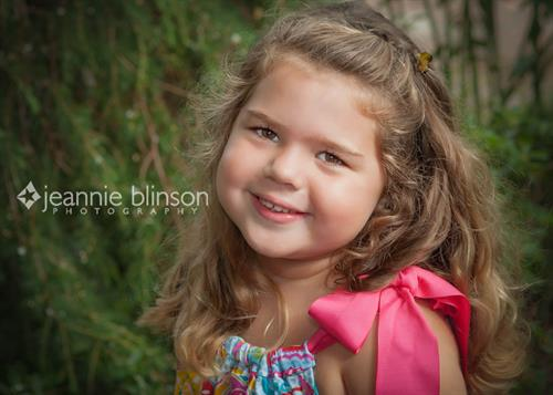 Children's portraits on location