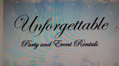 Unforgettable Party Rental, Event Planning and Catering