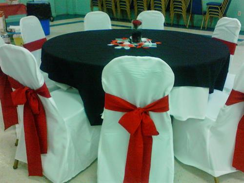 Event setup, customer