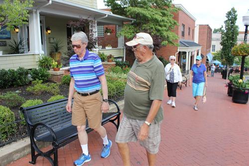 Strolling on Main Street