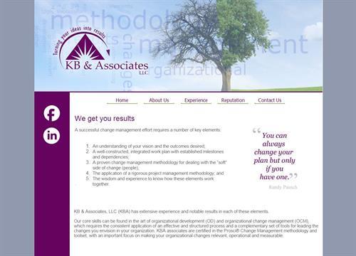 Website Design for KB and Associates