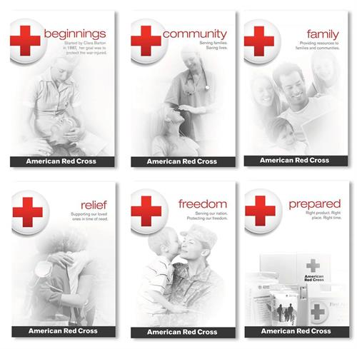 Posters for Red Cross presentation