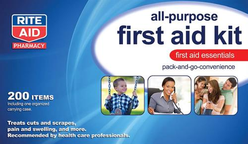 First Aid Kit Design for Rite Aid