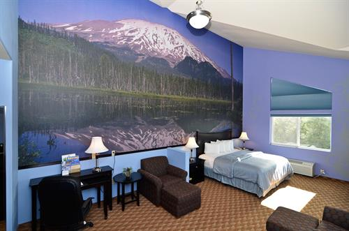 Mount St. Helens Themed Suite