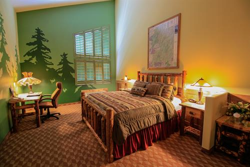 Log Cabin Themed Suite