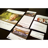 Identity materials for Wesley Commons