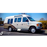 Vehicle graphics for Wesley Commons