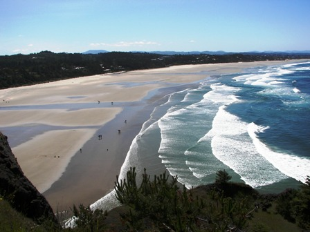 Agate beach from the light house
