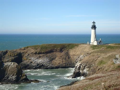 Yaquina Head Lighthouse nearby