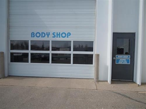 Body Shop Entrance