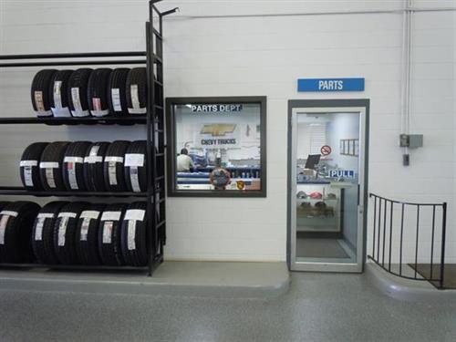 Parts Entrance